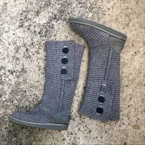 Ugg Australia Tall Classic Gray Cardy Boots